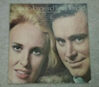 George Jones & Tammy Wynette- Me & The First Lady (Vinyl LP) VG+ KE-31554 Epic