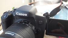 Canon EOS 750D 18-55mm IS STM DSLR-Kamera - Schwarz