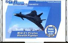 Anigrand Models 1/144 MiG-31 FIREFOX STEALTH FIGHTER