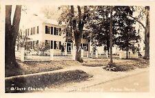 B68/ China Maine Me RPPC Real Photo Postcard 1941 Albert Church Brown Library
