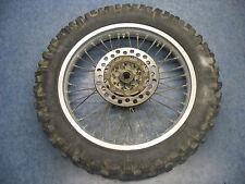 REAR WHEEL RIM TIRE HUB 86 KAWASAKI KX500 KX 500 1986