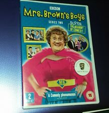 MRS BROWN'S BOYS - SERIES TWO - 2 DVD'S - REGION 2 - NEW & SEALED