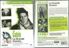 DVD - La GRANDE ILLUSION avec JEAN GABIN, DITA PARLO PIERRE FRESNAY NEUF EMBALLE