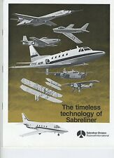 (102) Brochure THE TIMELESS TECHNOLOGY OF SABRELINER