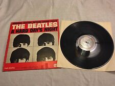 1964 Beatles Hard Days Night OST LP Record Album Vinyl United UAL 3366 Mono A3