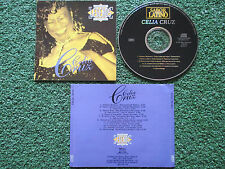 "Latin Salsa CELIA CRUZ ""Legends - Original Versions"" DELETED Spain 1996 CD"