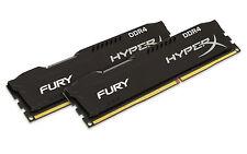 Kingston HyperX Fury Black 8gb Kit (2x4gb) Ddr4 2133 RAM Hx421c14fbk2/8