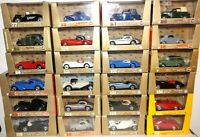 BRUMM SERIES ORO MODEL CARS 1/43 - JOB LOT VARIOUS MODELS Boxed Diecast Bundle