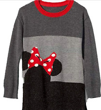 babygap Gap Girl Disney Minnie Mouse Colorblock Sweater Tunic NWT 3T NNN