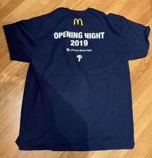 NEW Philadelphia Phillies Opening Night Liberty Bell ADULT XL T-Shirt SGA 03/31
