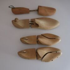 4 formes chaussure cordonnerie WOODLORE USA fait main design XXe PN France N2912