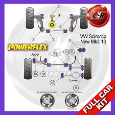 VW Scirocco Mk3 (2008-) Powerflex Complete Bush Kit