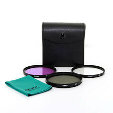 62mm Circular Polarized CPL+UV+FD FILTER Kit 62 Set NEW