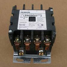 New Siemens LEN00B004480A 20 Amp 480V 4 Pole Lighting Contactor Open