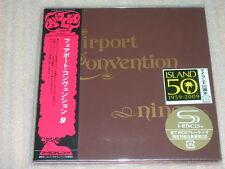 FAIRPORT CONVENTION nine +4 JAPAN mini lp SHM CD SEALED