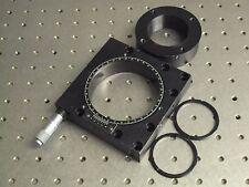 New listing Nrc Newport Model 470 B Rotary Theta Positioner & 470Ai Insert & Micrometer