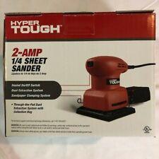 Hyper Tough 2-Amp Palm Sander, 1/4 Sheet, Corded