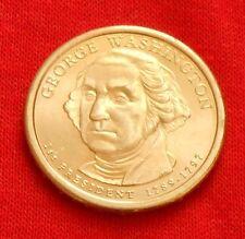2007 GEORGE WASHINGTON PRESIDENTIAL $1 COIN, D, DENVER MINT, FREE SHIPPING