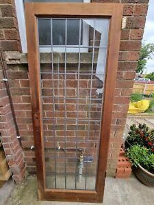 Pattern 10 Lead Glazed Internal Door