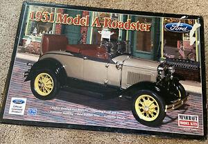 Minicraft 1931 Model A Roadster. 1/16. #11236.