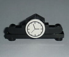 ACCESSORY Lego Mantle Clock  White Dial NEW town city Genuine Lego