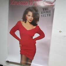 "Vanessa Williams The Right Stuff 1988 24x36"" Promo Cd Store Poster [P34]"