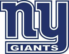 NEW YORK GIANTS ~ NY Decal ~ Window Wall Vinyl Car STICKER - Any Color/Size