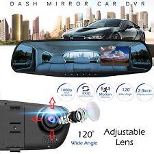 1080P 2.8 inch HD LCD Car Vehicle DVR Cam Recorder Dashboard Mirror HD Camera