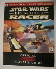 Star Wars Episode I Racer Player's / Strategy Guide Nintendo 64