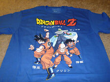 Dragon Ball Z Men's Blue T-Shirt Size 3XL