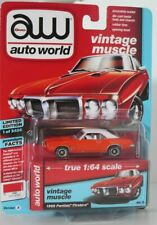 Auto World 1:64 Pontiac Firebird 1969 carousel red 64192A Brand new