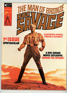 DOC SAVAGE magazine #1 (Marvel 1975) VF condition! NO RES!