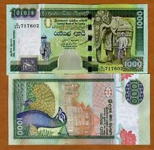 Sri Lanka, 1000 Rupees, 7-3-2006,  P-120d, UNC > Ceremonial Elephant
