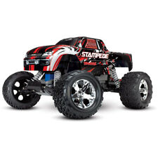 Traxxas Stampede Rc Remote Control Monster Truck with Tq 2.4Ghz Radio, 2Wd, Red