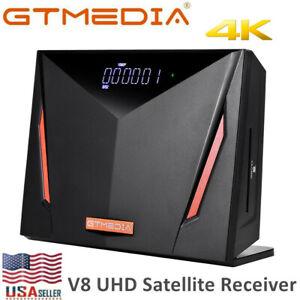 GTMedia V8 UHD 4K DVB-S2X/T2/C/ISDB-T Combo Tuner Satellite TV Receiver H.265