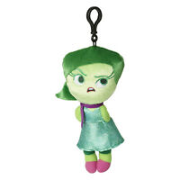 Disney Inside Out Disgust Zippered Clips 8 Inch Plush Figure NEW Toys Movie