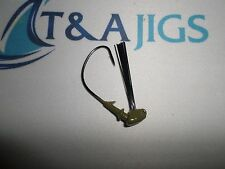 10 Weedless 3/8oz Flipping Barbed Jig Heads Jigs *Color Choice* Ewg Hook