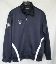 Mens LOTTO Track Top Full Zip Navy Blue sz L Large 40/42 - Excellent Cond.