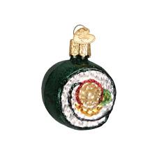 Old World Christmas Sushi Roll (32110)N Glass Ornament w/ Owc Box