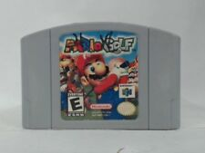 MARIO GOLF Nintendo 64 N64 Writing