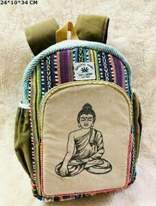 Cotton Bags Men / Women Backpack Bags School / Laptop / Travel / Work Bag