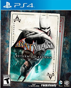 BATMAN:RETURN OF ARKHAM PS4 GAME NEW