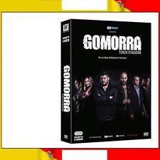 SKY ATLANTIC® GOMORRA STAGIONE 3 ITALIANO★COFANETTO 4 DVD★NUOVO SIGILLATO