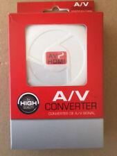 RCA AV to HDMI Output Displayer Converter Adapter Composite Upscaler Video