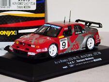 ALFA ROMEO 155 V6 Ti ITC 1996 JAS #9 S MODENA ONYX XT013 1:43