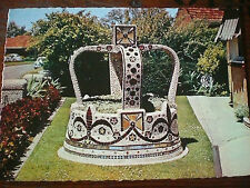 BALLARAT, VIC. MOSAIC IMPERIAL CROWN 'SHELL HOUSE' VINTAGE 1970s POSTCARD Aust