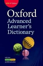 Oxford Advanced Learner's Dictionary by Oxford University Press (Mixed media...