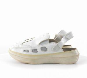 Mens Kyboot Koryo White M KyBun Comfort Shoes Slip On Leather Size 42.5 / US8.5