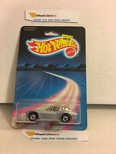 #4 Split Window '63 3985 * Silver * 1986 Hong Kong * Vintage Hot Wheels * E21