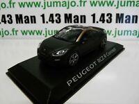 PE9 VOITURE 1/43 NOREV : PEUGEOT RCZ R concept 2012 noir mat